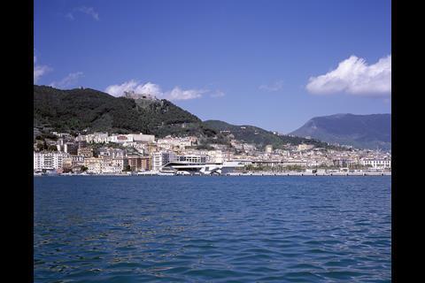 Zaha Hadid Architects - Salerno Maritime Terminal in Italy